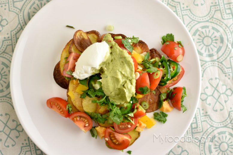 Mexicaanse aardappelschijfjes