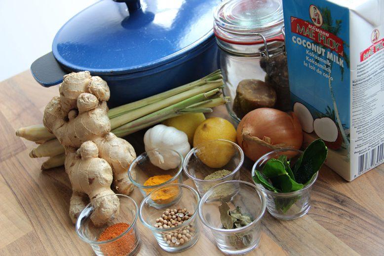 groentecurry maken