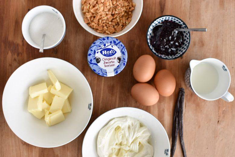 ingrediënten klassieke cheesecake