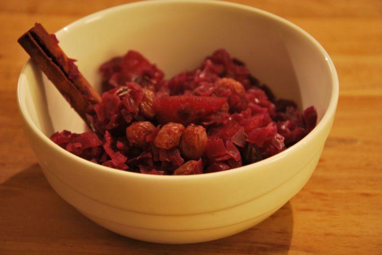 rode kool met appetljes - recept