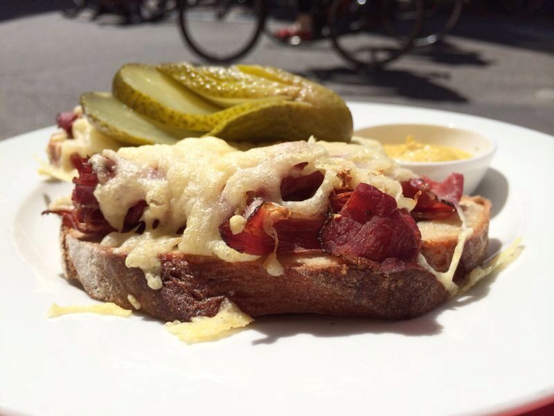 Rueben's sandwich