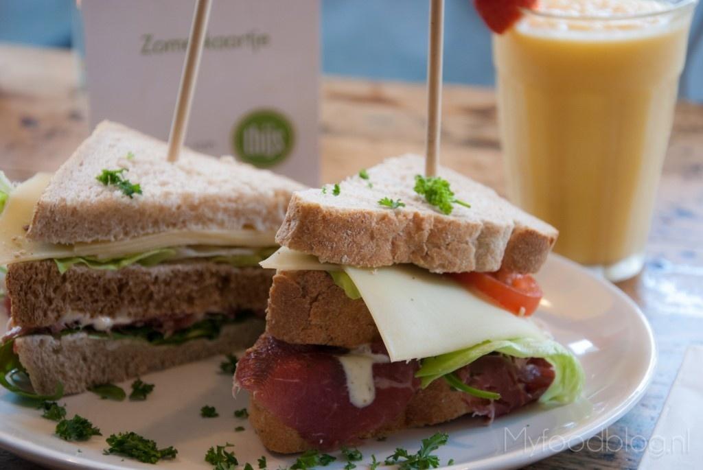 Club sandwich keuken van Thijs