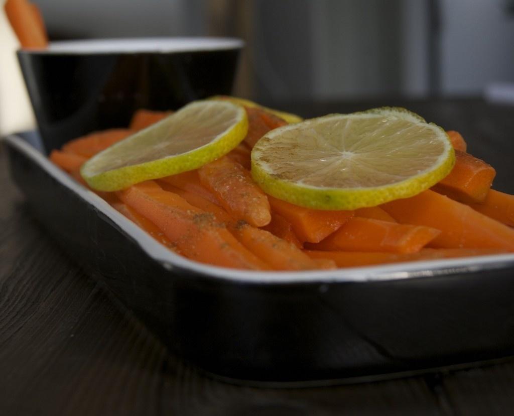gezonde wortelsnack