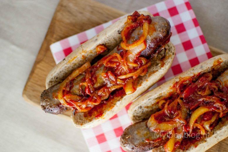 Amerikaans hotdog recept