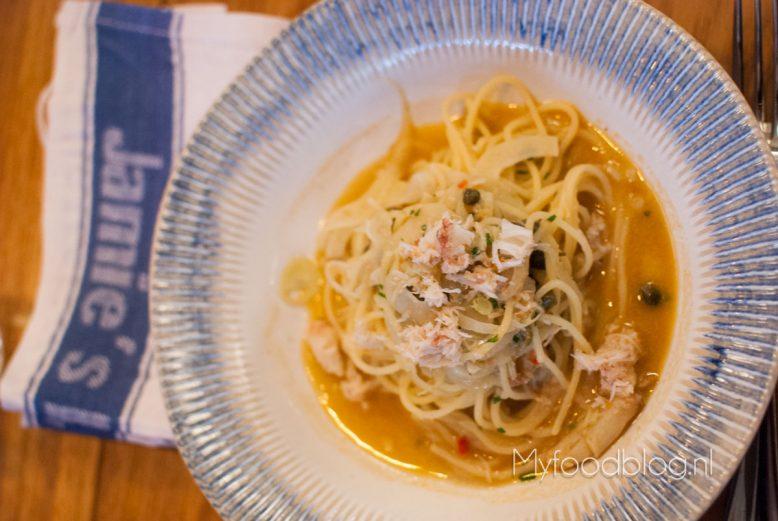 pasta Jamie's Italian Rotterdam