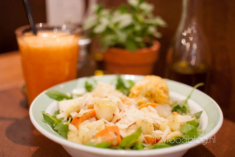 salade met najaarsgroenten (SLA Utrecht)
