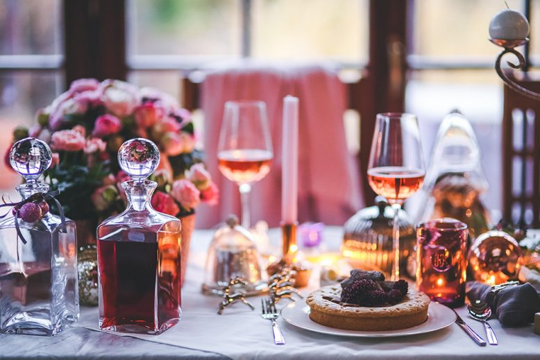 tafel stylen kerst