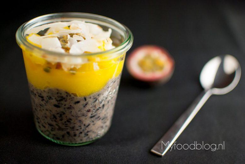 zwarte rijstpudding jamie oliver