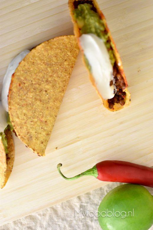 vegetarische taco's