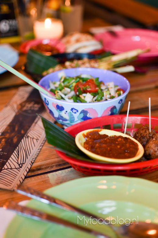 Thais eten bij Soi 74