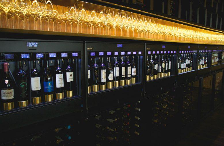 wijn van de tap bij Sommelier